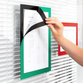 Magnetic frame self-adhesive A4 to display notes, A4 format