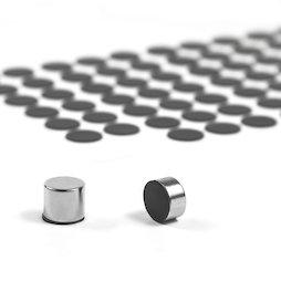 M-SIL-12, Silicone discs Ø 12 mm, self-adhesive, 98 per set